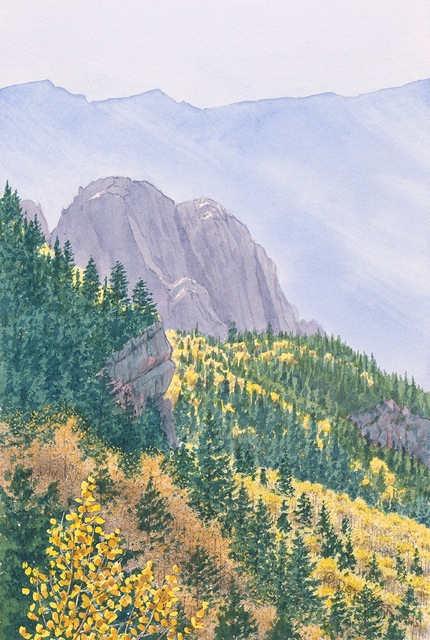 """""""Along the Crest Trail"""""""