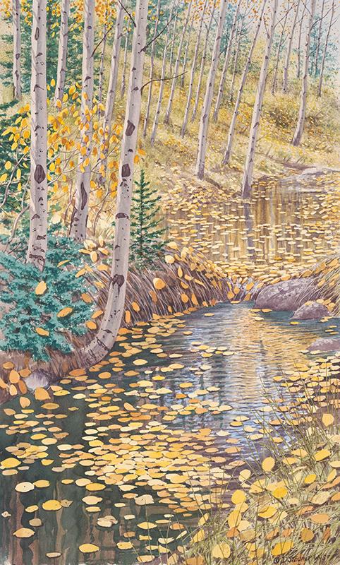 """""""Beaver Backwater"""" 26 x 16"""
