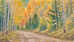 """Chalk Creek Road""21 x 37"